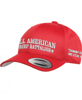 All American Beef Battalion - Flexfit - Athletic Mesh Cap