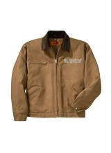 All American Beef Battalion Corner Stone Duck Cloth Jacket